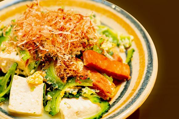 ゴーヤ&島豆腐
